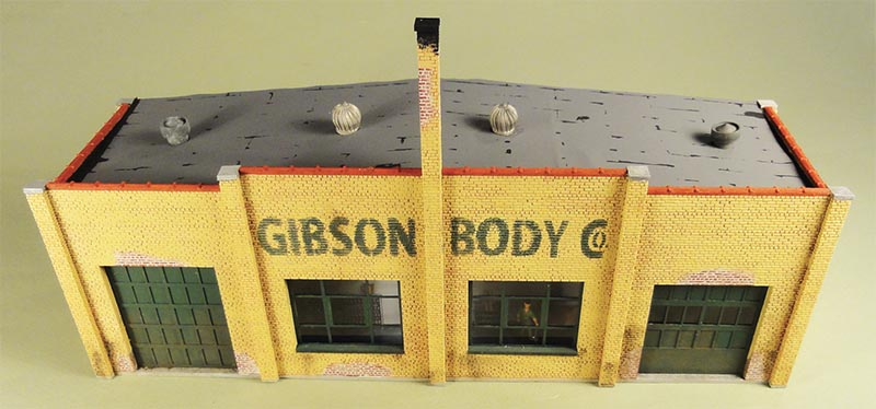 Monster Modelworks Gibson Body Co. in HO scale