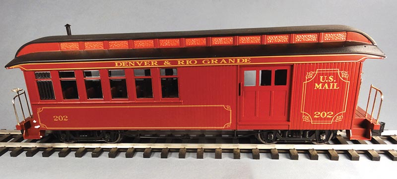 Large Scale Jackson & Sharpe Combine from Bachmann Trains