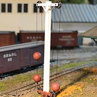 Ball Signals on the Sandy River & Rangeley Lakes Railroad