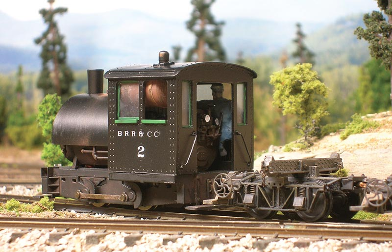 Bell Locomotive in On30