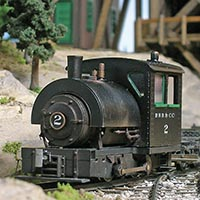Modeling a Bell Locomotive Works 0-4-0T in On30