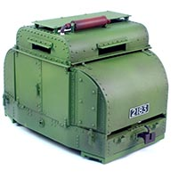 Armored Simplex Tin Turtle Kit