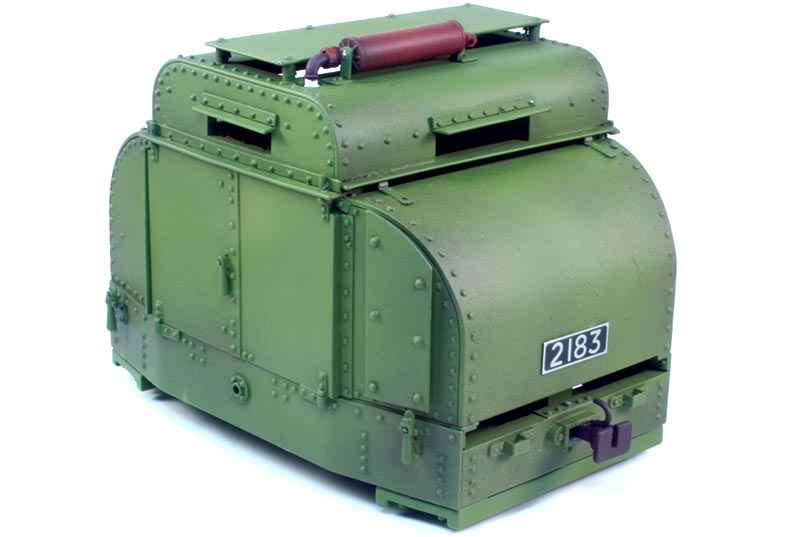 Armored Simplex Tin Turtle Kit