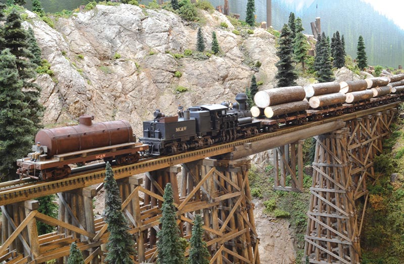 British Columbia Logging: The HO Scale Moxy Creek & Western