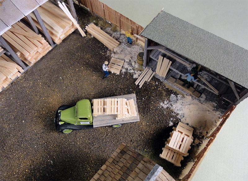 Mt. Albert Lumber Yard Kit