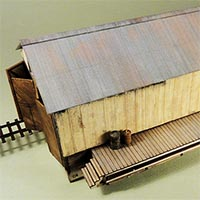RGS Dolores Goose Shed in HO Scale