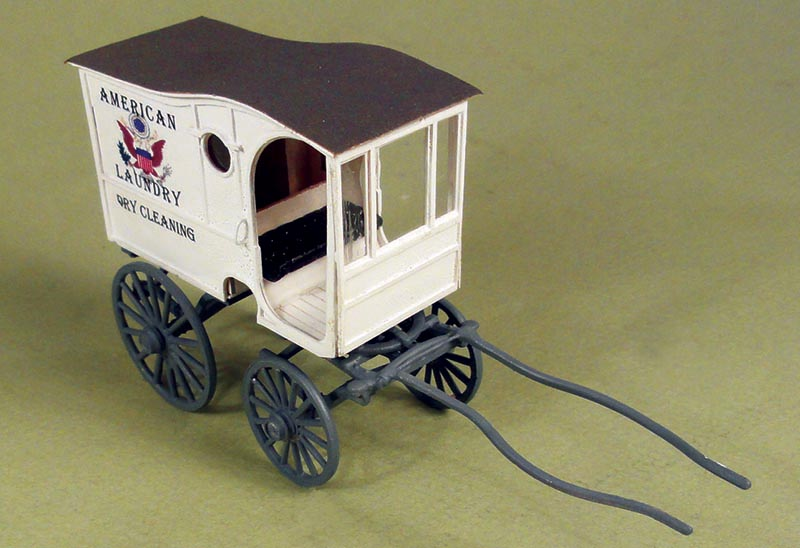 O Scale American Laundry Wagon by Berkshire Valley Models