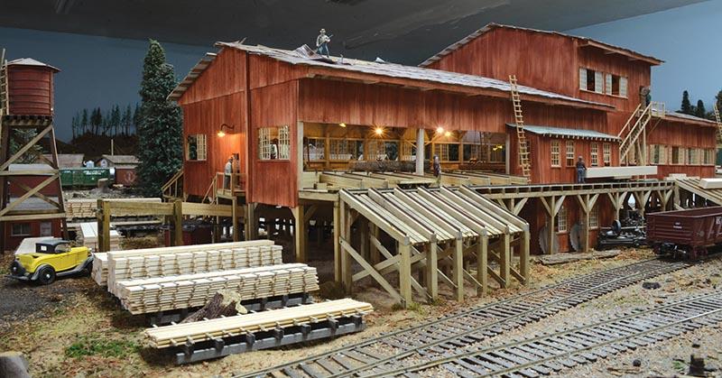 Long Leaf Sawmill in O Scale