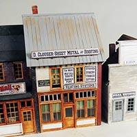 Stoney Creek Designs Main Street Merchants in O Scale