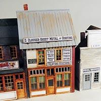 Stoney Creek Designs Main Street Merchants in O Scale