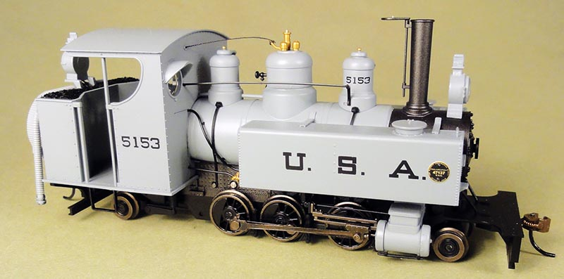 Class 10 2-6-2T Trench Engine in On30 by Bachmann Trains