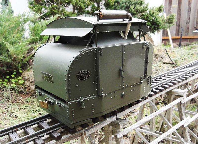 Modeling World War I Trench Railways